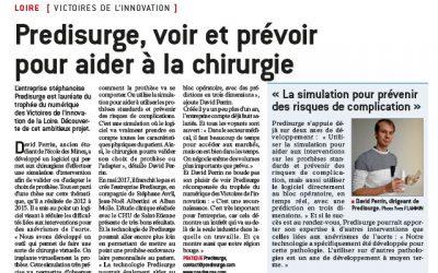 [FR] «PrediSurge, voir et prévoir pour aider à la chirurgie» – Le Progrès